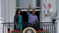 Beyonce, Jay-Z, and Blue Ivy attend White House Easter egg roll
