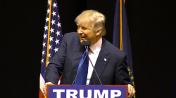 New Hampshire: Donald Trump repeats vulgar slur about Ted Cruz at rally