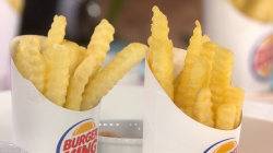 Burger King introduces lower-calorie 'Satisfries'