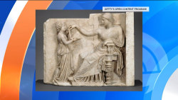 Some claim this carving shows ancient Greeks had laptops