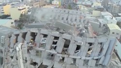 Taiwan Continues its Search for Earthquake Victims on Lunar New Year