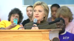 Clinton to Congregation: 'What Happened in Flint Is Immoral'