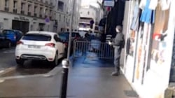 The Moment Paris Police Suspect Assailant May Have Bomb