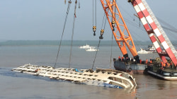 What Now? Ian Williams Reports as Cruise Ship Righted