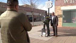 Glenn Frey Fans See 'Fine Sight' on Winslow, Arizona, Street Corner