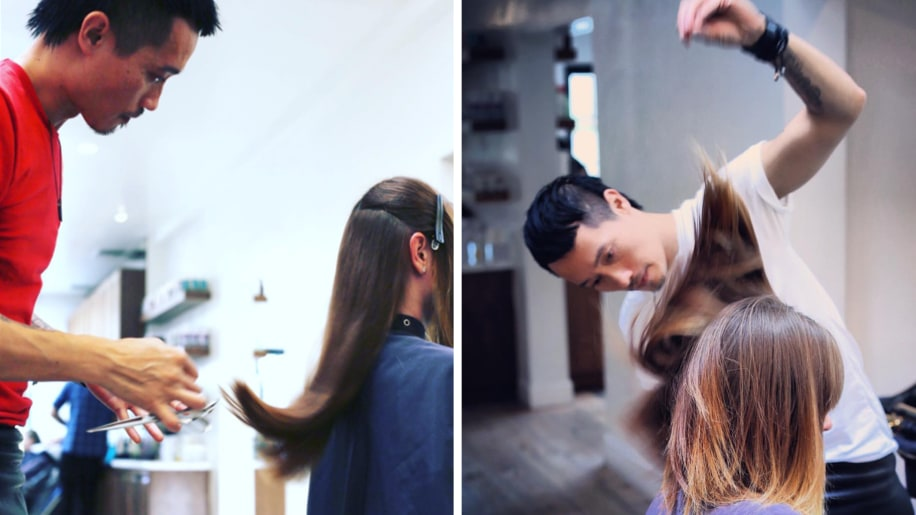 Style fashion trends beauty tips hairstyles celebrity style this surprising trick will give you the best haircut of your life urmus Image collections
