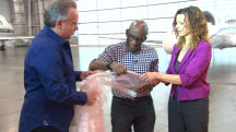 Al Roker gets a preview of luxury space travel