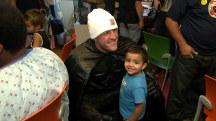 'I know what it's like to be a fan': NFL star J.J. Watt surprises kids