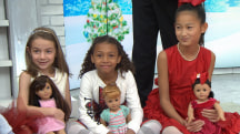 American Girl donates dolls to kick off Toy Drive