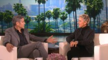George Clooney tells Ellen DeGeneres how he proposed to Amal