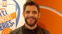 Find out what prank Thomas Rhett pulled on Toby Keith