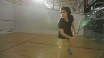 Female Pakistani Squash Player Defies Taliban to Excel in Sport