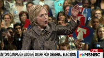 Clinton campaign gears up against Trump