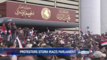 State of Emergency in Baghdad as Protesters Storm Iraqi Parliament