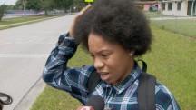 Girl's Hair Set On Fire