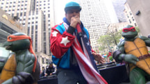 Vanilla Ice performs 'Ice Ice Baby' on the TODAY plaza