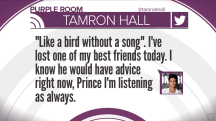 Prince: See moving tributes from Tamron Hall, other celebs