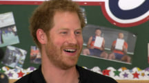 See Prince Harry's hilarious response after being asked if he'll ever be king