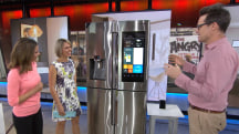 Fridge that texts photos, 'smart' toilet:  See the home products of the future