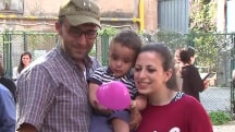 Syrian Refugee Family Starts New Life in Rome