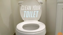 Find out how you should really be cleaning your toilet