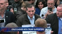 Cruz Has Face-To-Face Debate With Trump Supporters in Indiana