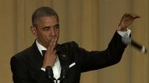 Obama's last laugh