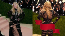 KLG on Madonna's racy Met Gala outfit: 'She was being cheeky!'