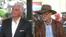 John O'Hurley and the real J. Peterman debut the real urban sombrero!