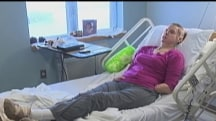 Chimp-attack victim Charla Nash in hospital after face-transplant rejection
