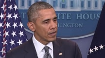 Pres. Obama: Trump's record needs to be examined