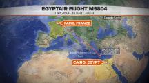 Egyptair MS804 debris spotted in Mediterranean