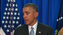 Obama: North Korea's nuclear ambitions pose 'serious threat'