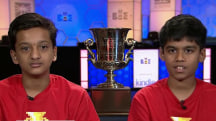 Scripps Spelling Bee is a tie (again)! Meet the winners