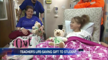 Student Receives Life-Saving Kidney Transplant From Teacher