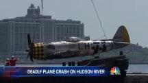 Vintage World War II Fighter Plane Crashes Into Hudson River