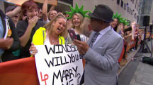 Watch Al Roker help woman propose to her boyfriend live on TODAY