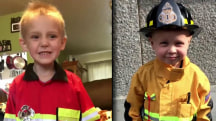 Two Boys Become FDNY Firefighters as They Battle Cancer