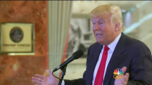 Trump Lashes Out at Media While Detailing Donations to Vets