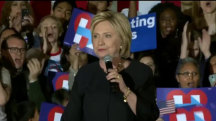 Clinton Campaign Steps Up Efforts in California as Primary Nears