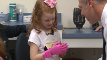 Girl Gets Prosthetic Hand Made From 3-D Printer
