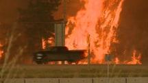 Massive Fire Forces City's Evacuation