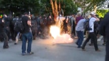 Five Injured In Seattle May Day Clashes
