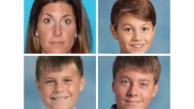 Police Search For Missing Mother, Three Sons