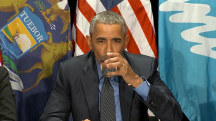 Watch Obama Drink Flint Tap Water