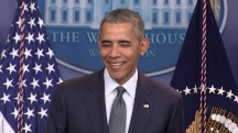 Here's What Obama Thinks About Trump's Taco Bowl Tweet, GOP Race