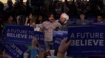 Two Undocumented Immigrants 'Interrupt' Sanders