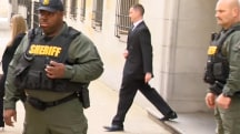 Officer Leaves Courthouse After Being Cleared of Freddie Gray's Death