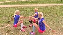 Identical Triplets to Compete in Summer Olympics in Rio