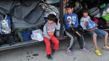 Greece Starts Moving Thousands from Huge Refugee Camp